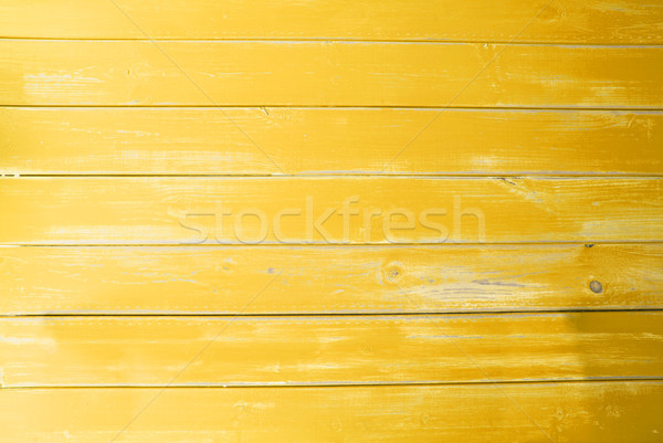 Yellow Vintage Wooden Background, Copy Space Stock photo © Nelosa