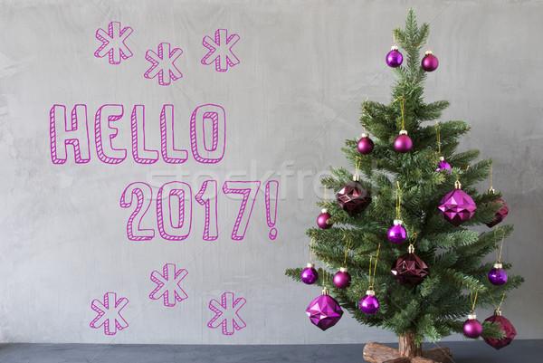 Ciment perete text Alo violet Imagine de stoc © Nelosa