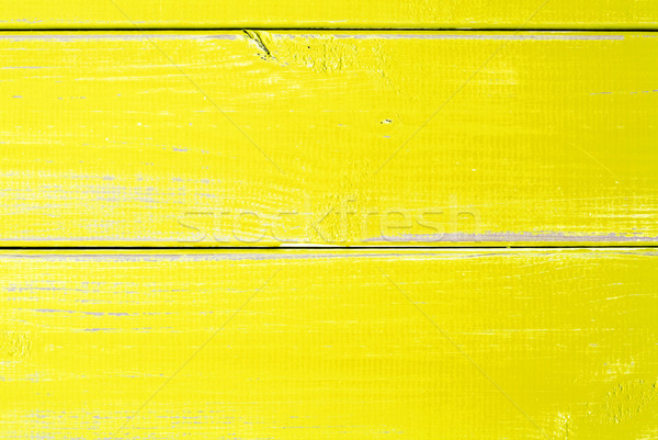 Light Yellow Wooden Slats Background With Copy Space Stock photo © Nelosa