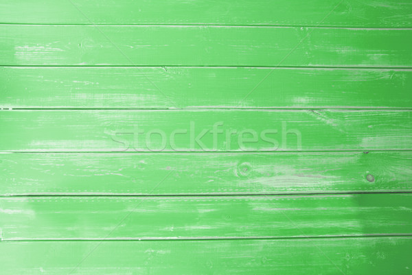 Green Vintage Wooden Background, Copy Space Stock photo © Nelosa