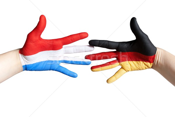 dutch german friendship Stock photo © Nelosa