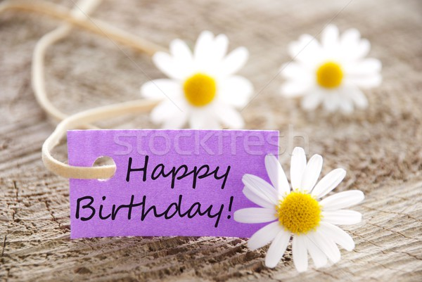 Stock photo: happy birthday!
