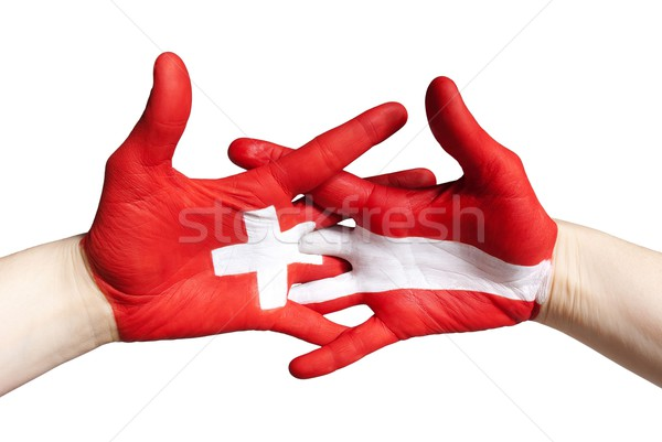 swiss and austrain partnership Stock photo © Nelosa