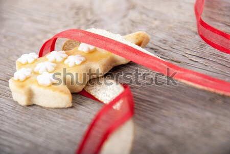 christmas tree cookie Stock photo © Nelosa