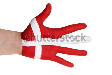 a danish hand Stock photo © Nelosa