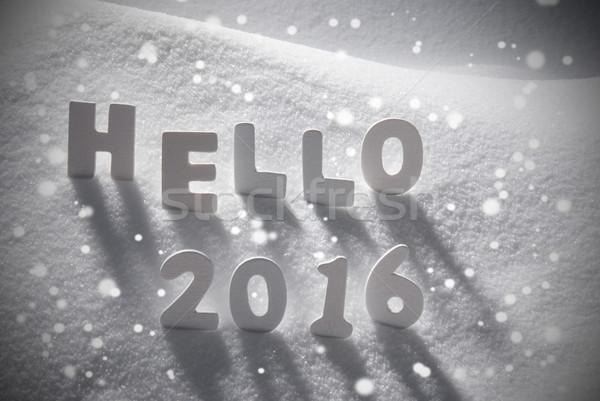 ストックフォト: 白 · クリスマス · 言葉 · 2016 · 2015 · 雪