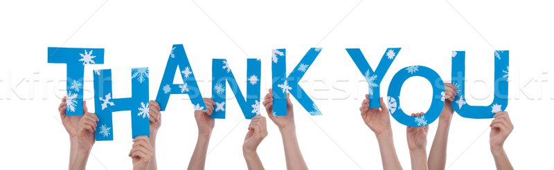 People Holding Thank You Stock photo © Nelosa