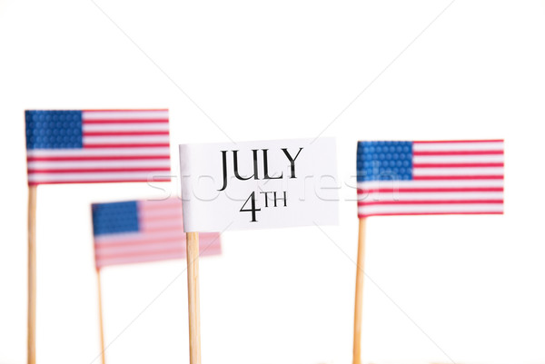 July 4th Stock photo © Nelosa