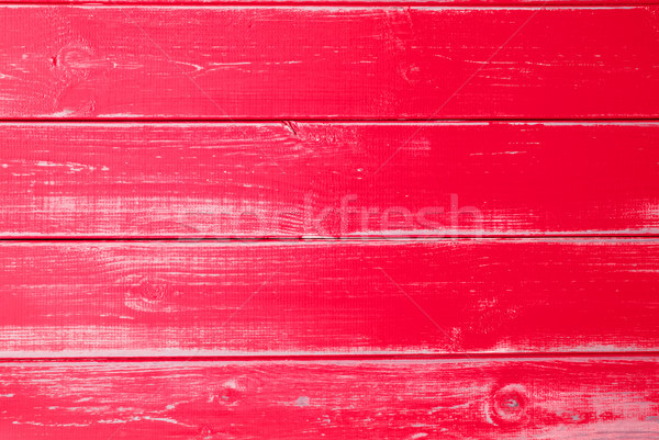 Red Wooden Background, Copy Space Stock photo © Nelosa