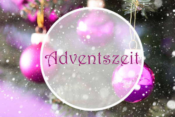 Aumentó cuarzo Navidad advenimiento temporada Foto stock © Nelosa