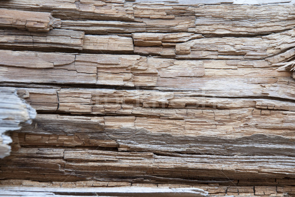 Brown Wooden Background Or Texture, Copy Space Stock photo © Nelosa