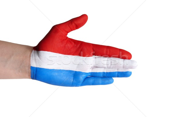 holland hand Stock photo © Nelosa