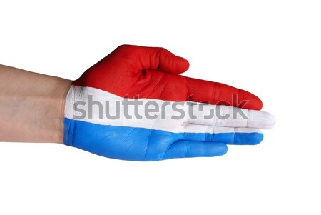 dutch hand Stock photo © Nelosa