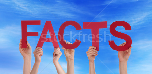 People Holding Facts in the Sky Stock photo © Nelosa