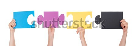Pieces of a Puzzle Stock photo © Nelosa