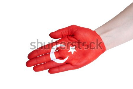 turkish flag Stock photo © Nelosa