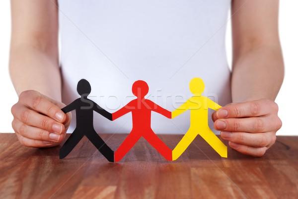holding people Stock photo © Nelosa