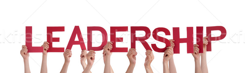 People Holding Leadership Stock photo © Nelosa