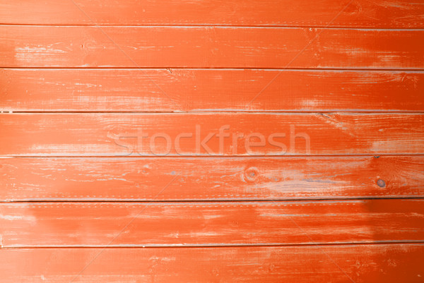 Orange Vintage Wooden Background, Copy Space Stock photo © Nelosa