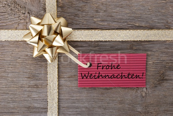 Frohe Weihnachten Stock photo © Nelosa