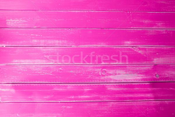Intenzív rózsaszín klasszikus fából készült copy space hirdetés Stock fotó © Nelosa