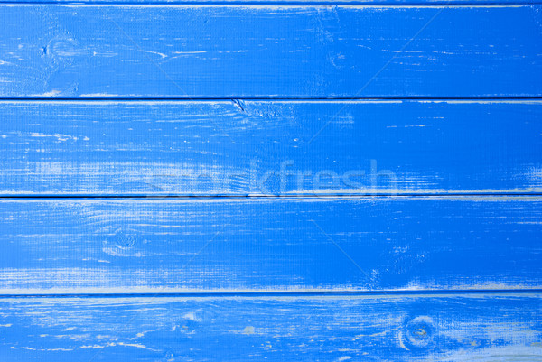 Blue Vingtage Wooden Background, Copy Space Stock photo © Nelosa
