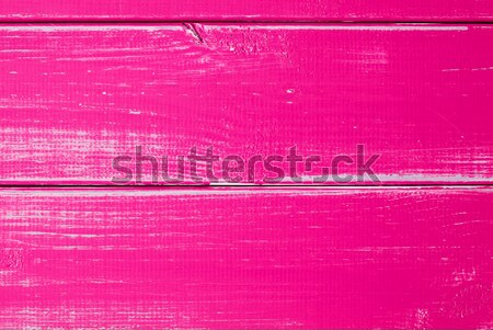 Intense Pink Wooden Slats Background With Copy Space Stock photo © Nelosa