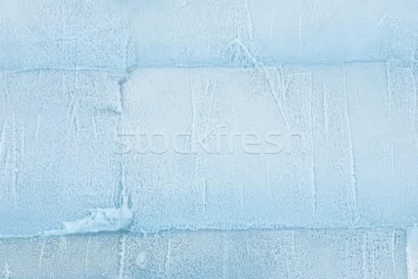 Textúra fal ki jég háttér tábla Stock fotó © Nelosa