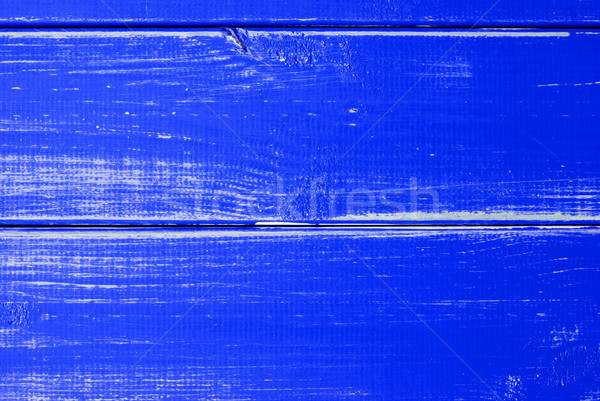 Dark Blue Wooden Slats Background With Copy Space Stock photo © Nelosa