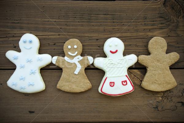 Four Ginger Bread Women Stock photo © Nelosa