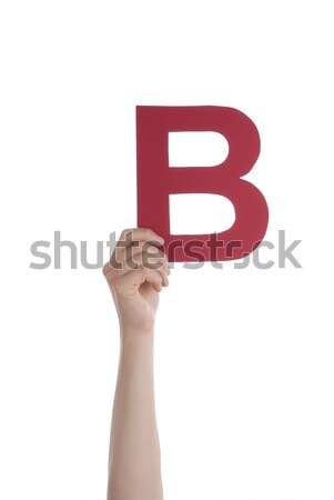 Hand With a Letter Stock photo © Nelosa