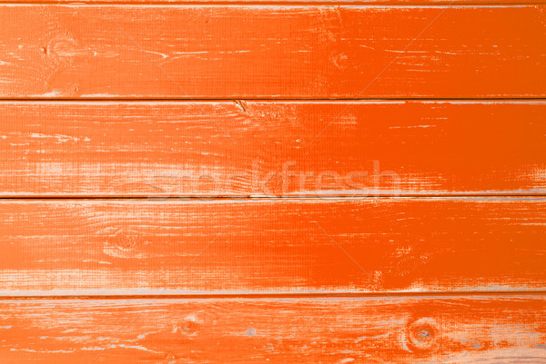 Orange Wooden Background, Copy Space Stock photo © Nelosa