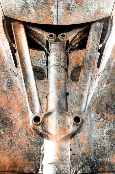 механический Гранж аннотация самолета стали инженерных Сток-фото © nelsonart