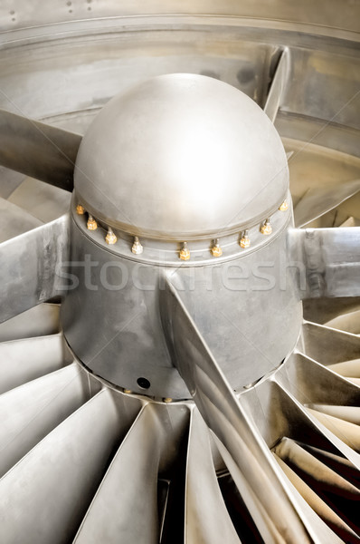 jet engine blades Stock photo © nelsonart