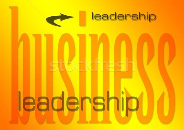ビジネス リーダーシップ 実例 作業 背景 業界 ストックフォト © nelsonart