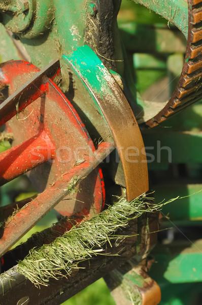 lawnmower Stock photo © nelsonart