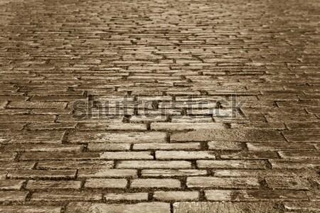 cobblestones Stock photo © nelsonart