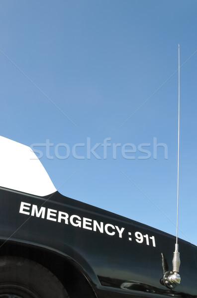чрезвычайных 911 полиции автомобилей автомобилей радио Сток-фото © nelsonart