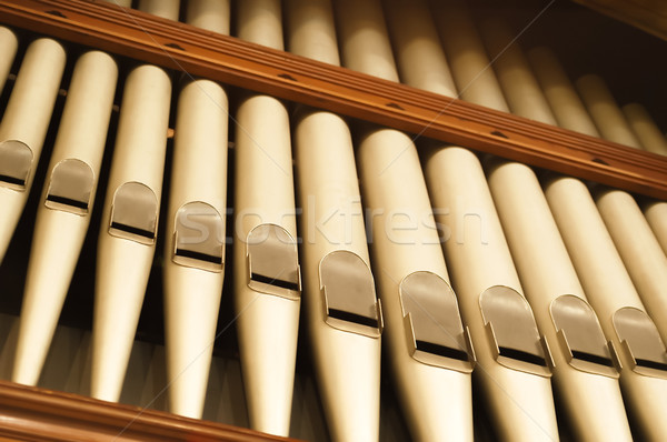 organ pipes Stock photo © nelsonart