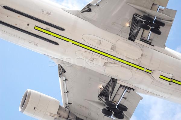 самолета подробность низкий уровень путешествия скорости Сток-фото © nelsonart