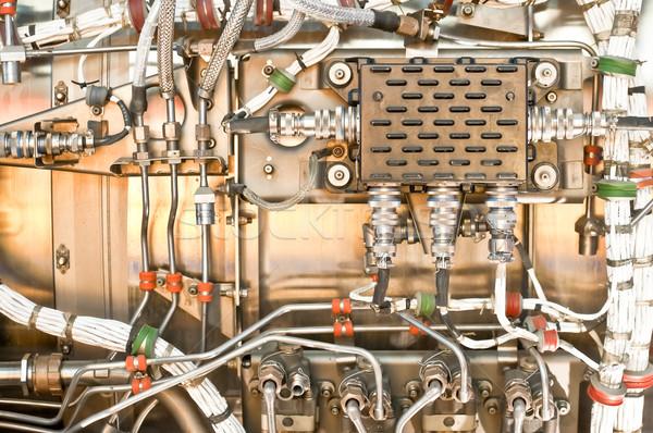 Jet двигатель используемый авиация промышленности самолет Сток-фото © nelsonart