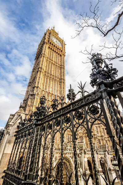 Photo stock: Big · Ben · hdr · horloge · tour · britannique · parlement