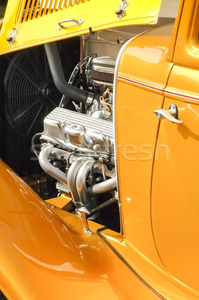 Moteur coutume vue voiture voitures transport Photo stock © nelsonart