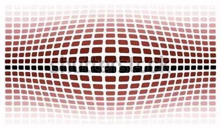 Rojo scifi resumen ilustración diseno fondo Foto stock © nelsonart