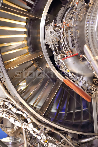 Сток-фото: Jet · двигатель · большой · технологий