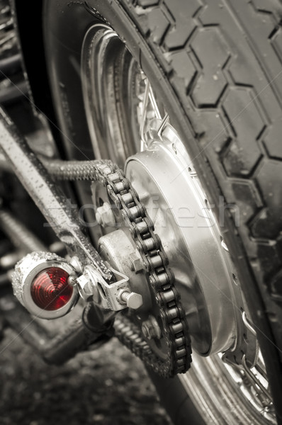 motorcycle chain Stock photo © nelsonart