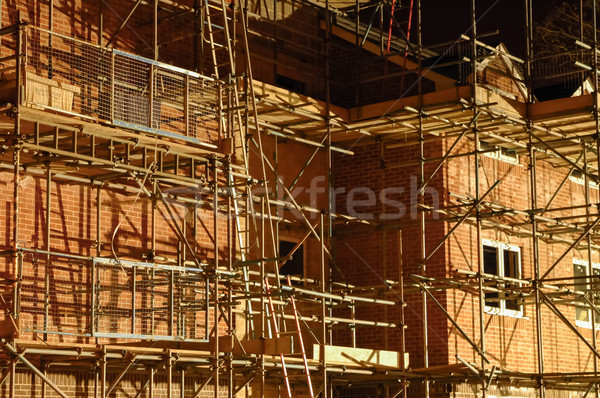 building scaffold Stock photo © nelsonart
