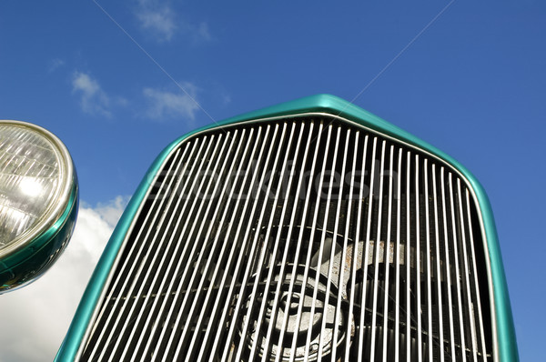 hotrod grille Stock photo © nelsonart