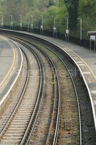 railroad platform Stock photo © nelsonart