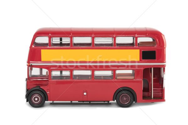 vintage london bus Stock photo © nelsonart